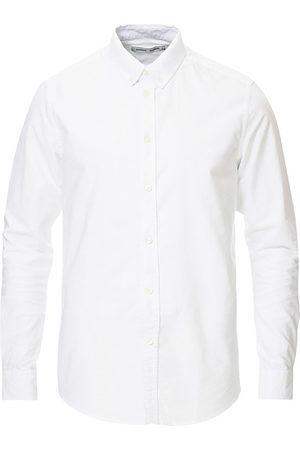 Samsøe Samsøe Miehet Bisnes - Liam Button Down Shirt White