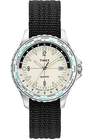 Timex Miehet Kellot - Navi World Time Cream Dial