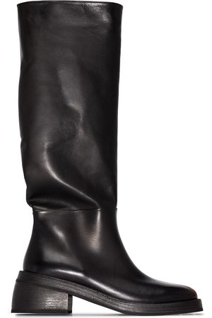 MARSÈLL Leather knee boots