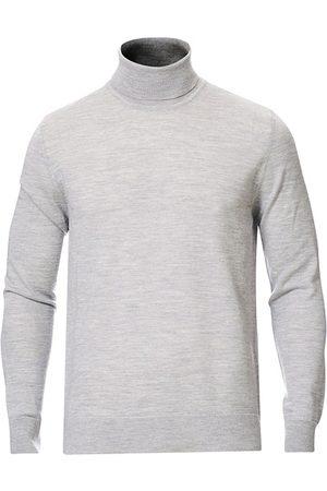 Samsøe Samsøe Flemming Superfine Merino Wool Roll Neck Grey Mel