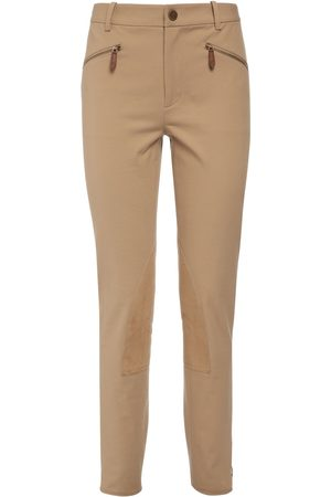 Ralph Lauren Stretch Cotton Twill Leggings