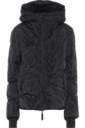 JET SET Naiset Laskettelutakit - Julia tiger-print padded ski jacket
