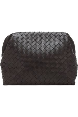 Bottega Veneta Intrecciato Leather Document Case