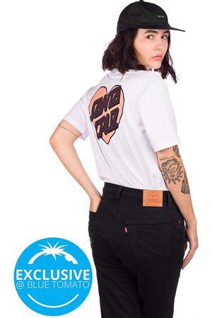 Santa Cruz Naiset T-paidat - Heart Outline T-Shirt