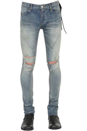 SEIGEKI 15cm Skinny Sand Washed Denim Jeans