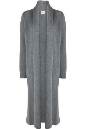 LE KASHA Italy open-front cardi-coat