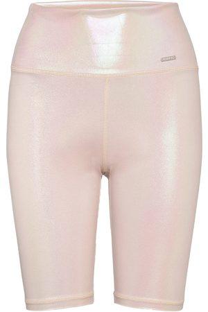 aim'n Cream Shine On Biker Shorts Shorts Sport Shorts Vaaleanpunainen