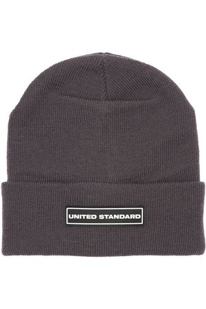 UNITED STANDARD Logo Patch Beanie Hat