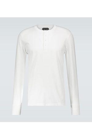 Tom Ford Long-sleeved Henley T-shirt