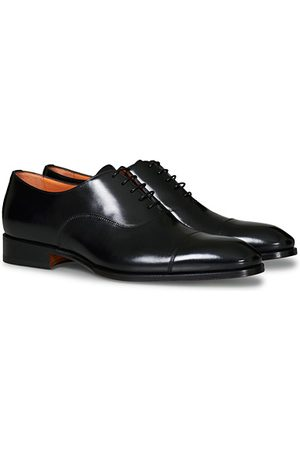 santoni Blake Oxford Black Calf