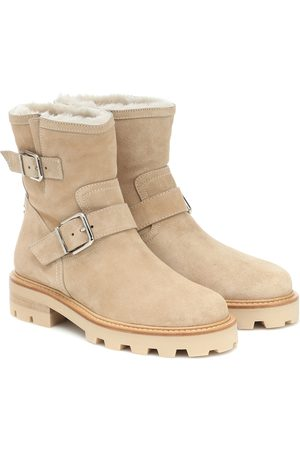 Jimmy Choo Youth II suede ankle boots