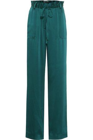 Tom Ford Satin wide-leg pants