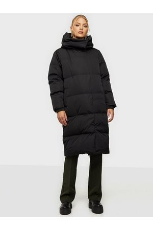 Object Naiset Untuvatakit - Objlouise Long Down Jacket Noos