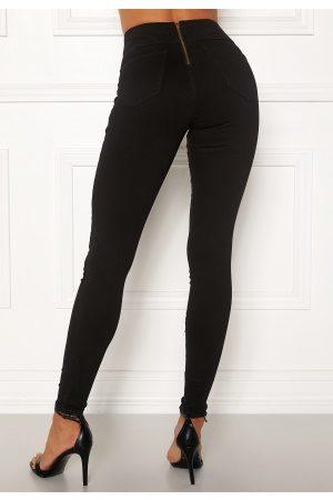 Happy Holly Lyra zip pants Black 42S