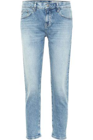 AG Jeans Ex-Boyfriend low-rise slim jeans