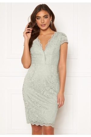 Moments New York Viola Lace Dress Dusty green 40