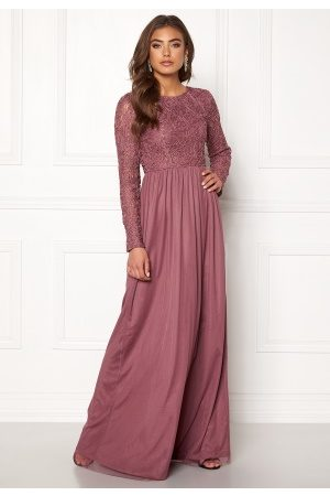 BUBBLEROOM Arinne gown Dark old rose 34