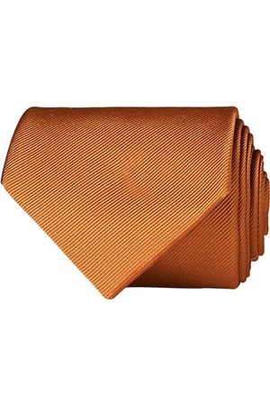 Amanda Christensen Plain Classic Tie 8 cm Rust