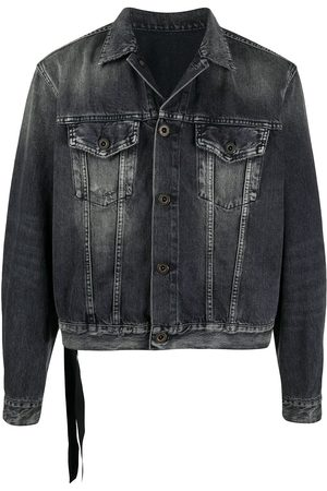 Unravel Project Stonewashed denim jacket