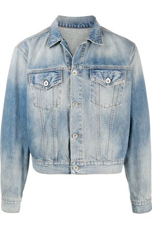 Unravel Project Cropped denim jacket