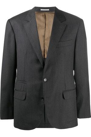 Brunello Cucinelli Single-breasted virgin wool blazer