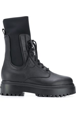 LE SILLA Ranger leather ankle boots