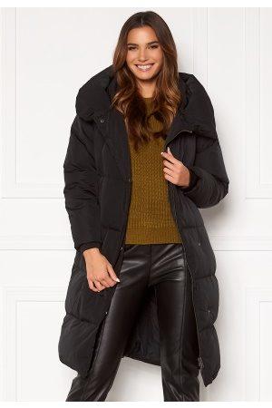 Object Louise Long Down Jacket Black L