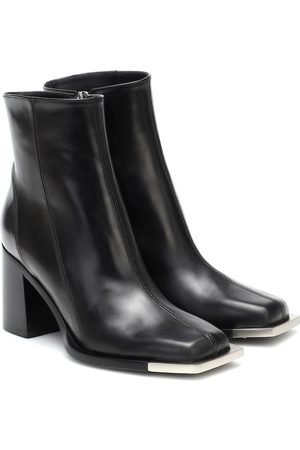 Peter Do Leather ankle boots