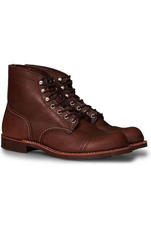 Red Wing Miehet Nilkkurit - Iron Ranger Boot Amber Harness Leather