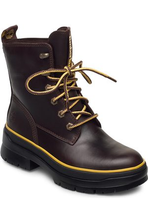 Timberland Naiset Nilkkurit - Malynn Mid Lace Ek+ Wp Shoes Boots Ankle Boots Ankle Boot - Flat