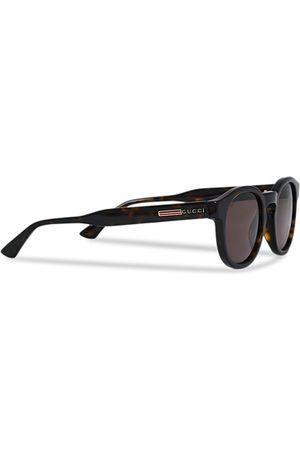 Gucci Miehet Aurinkolasit - GG0825S Sunglasses Havana/Brown