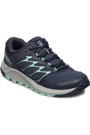 Merrell Wildwood Gtx Navy Shoes Sport Shoes Outdoor/hiking Shoes