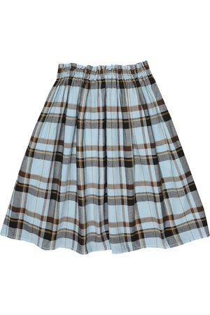 MORLEY Mercedes checked cotton skirt