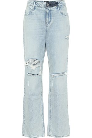RTA Remi high-rise straight jeans