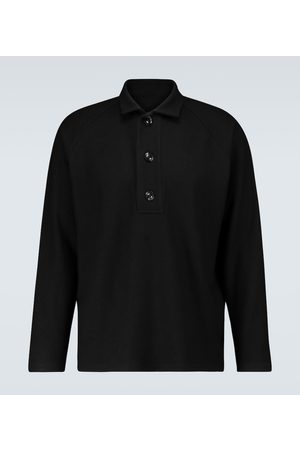 Winnie Oversized long-sleeved polo shirt