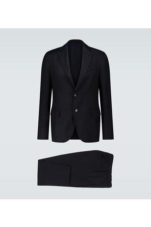 LARDINI Easy Wear wool travel suit