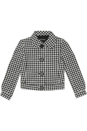 Emporio Armani Tytöt Päällystakit - Checked jacket