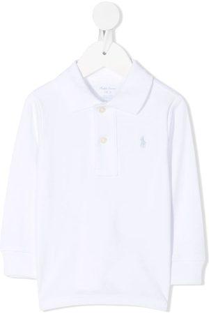 Ralph Lauren Pikee - Embroidered logo polo shirt