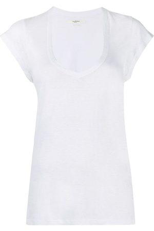 Isabel Marant Naiset T-paidat - U-neck longline T-shirt