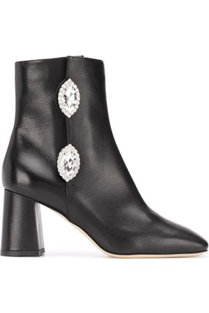 GIANNICO Julie crystal ankle boots