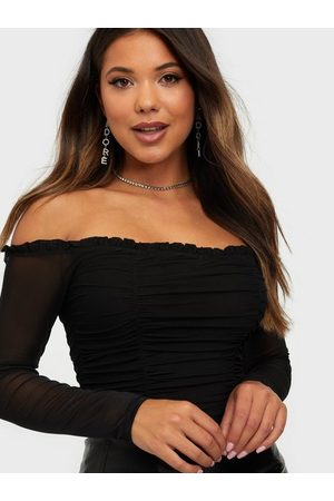 NLY One Mesh Off Shoulder Body