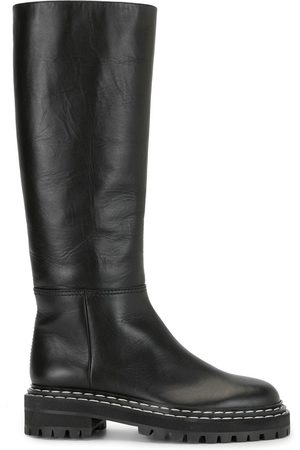 Proenza Schouler Naiset Ylipolvensaappaat - Lug Sole Knee High Boots