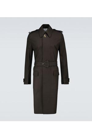 Bottega Veneta Waterproof cotton trench coat