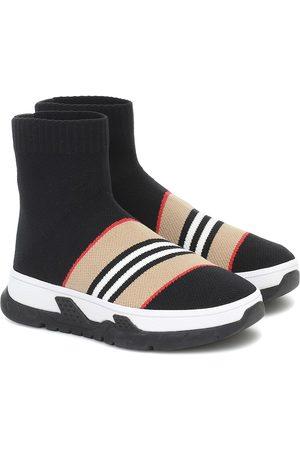 Burberry Icon Stripe sock sneakers