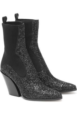 Jimmy Choo Mele 85 glitter ankle boots
