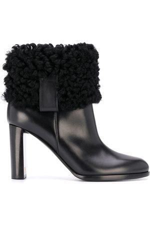 Tom Ford Shearling-detail ankle boots