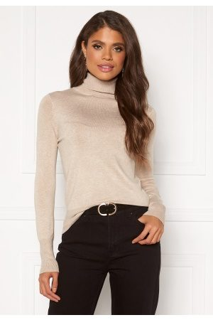 Only Naiset Poolopaidat - Venice L/S Rollneck Pullover KNT NOOS Whitecap Gray M