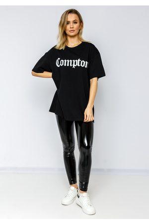 Fiorellashop Compton Oversize Tee In Black