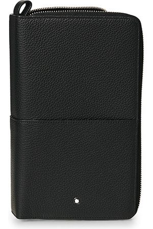 Mont Blanc MST Soft Grain Travel Wallet Black