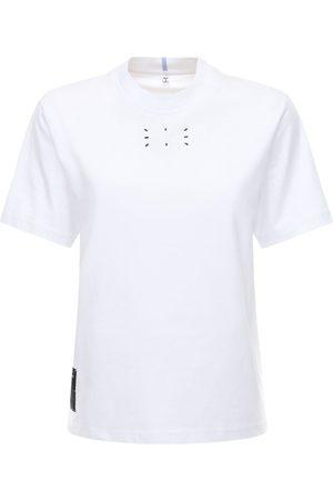 McQ Naiset T-paidat - Logo Cotton Jersey T-shirt